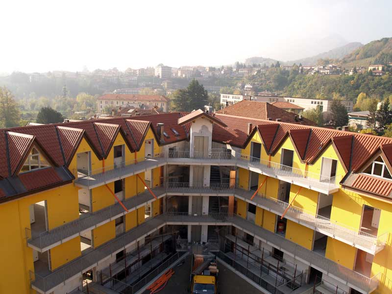 Il Coppo Alubel housing complex